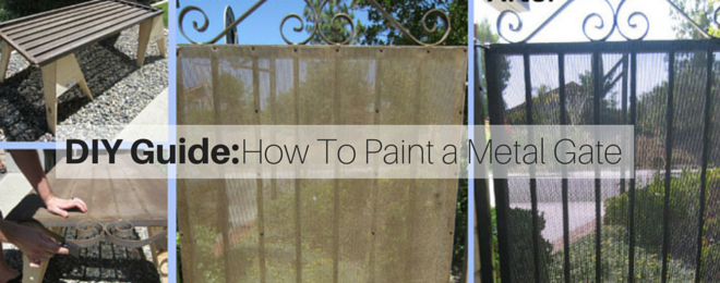 How to Paint a Metal Gate – A DIY Guide