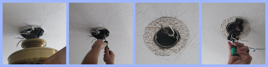 DIY Project: Replacing a Ceiling Fan