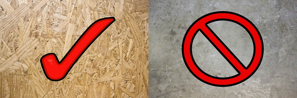Subfloor Requirements for Standars Underlayment Installation