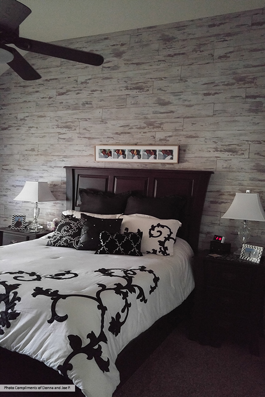 Classen Premium Fresco Laminate Flooring Wall Installation