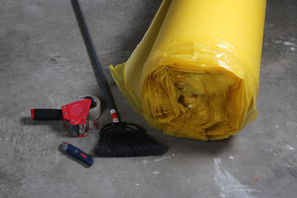 How To Install 2in1 Vapor Barrier Underlayment:Tolls and supplies you need