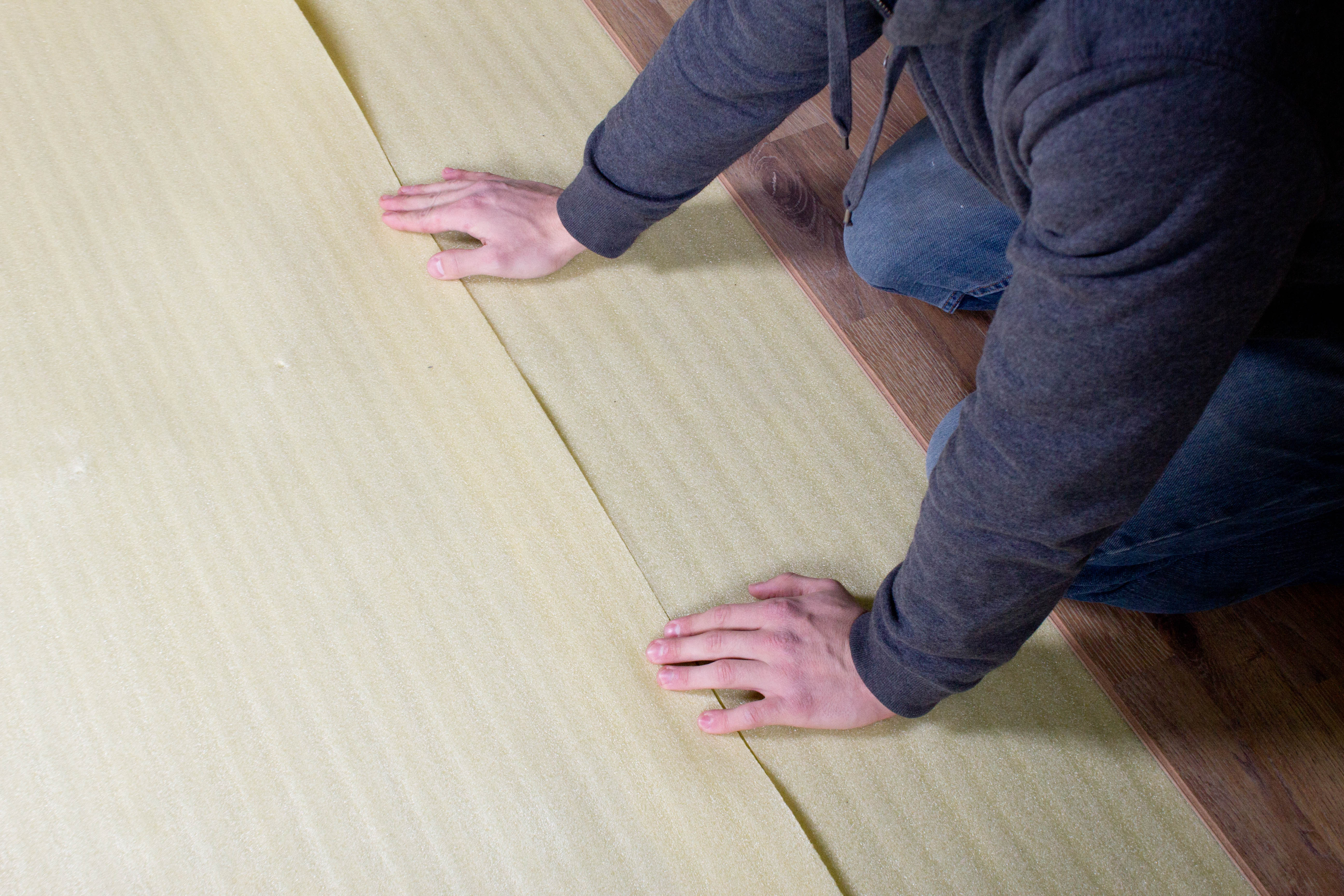 How To Install In Vapor Barrier Flooring Underlayment - How to install moisture barrier under laminate flooring