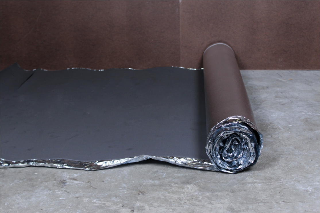 How to Install Vapor 3-in-1 Silver Underlayment - Put your underlayment parallel to the wall
