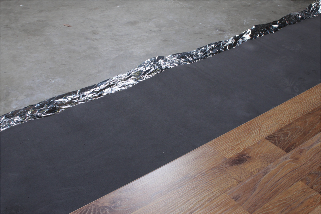 How to Install Vapor 3-in-1 Silver Underlayment - Start laying your flooring