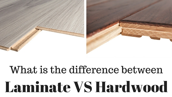 what is the difference between laminate flooring vs hardwood flooring