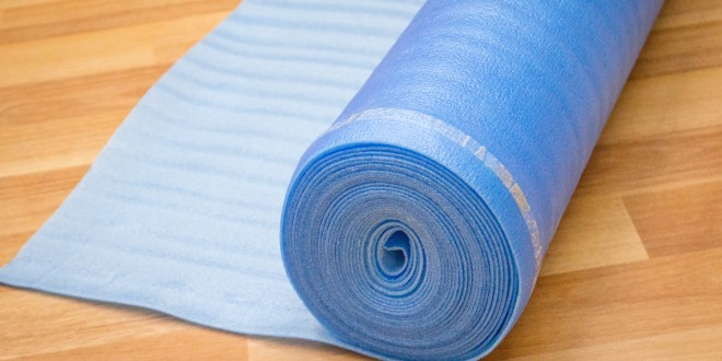 Vapor 3-in-1 Blue Underlayment