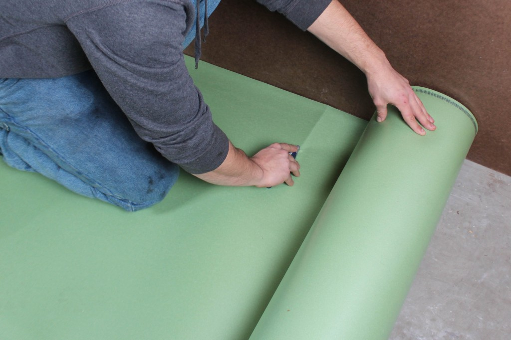 How To Install Floor Muffler Ultraseal Underlayment