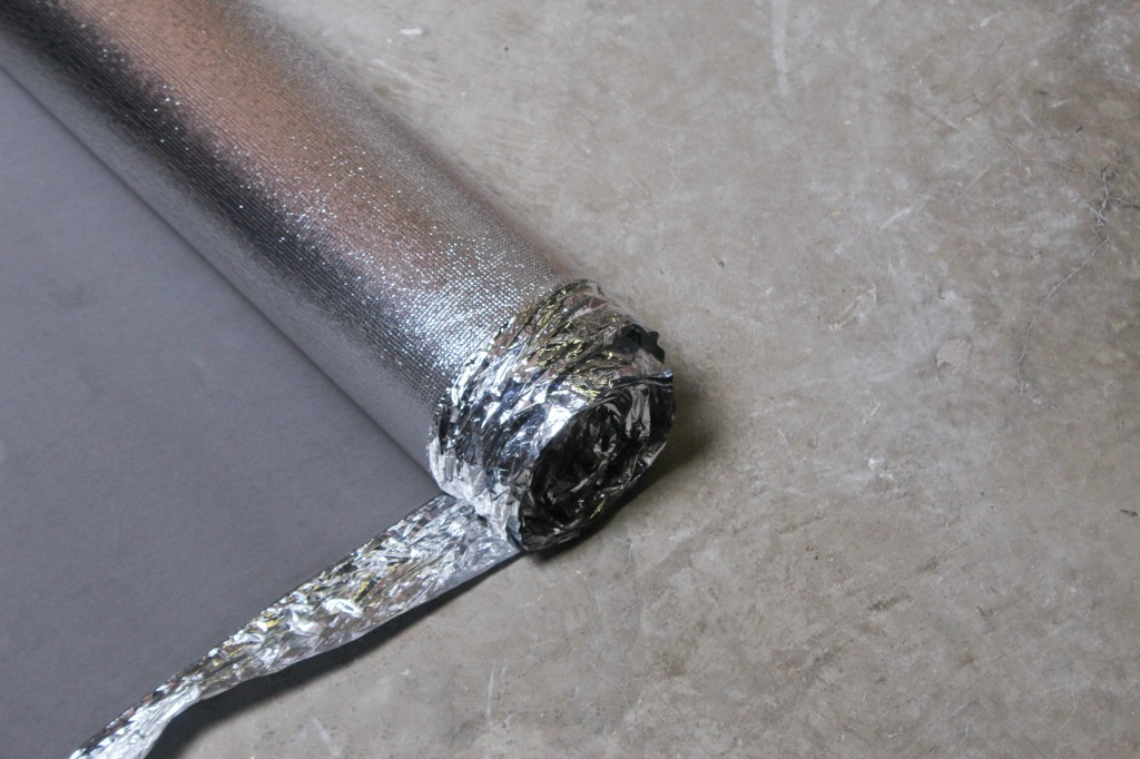 Silver Vapor 3-in-1 Laminate Flooring Underlayment
