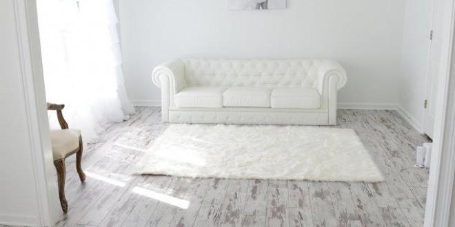 White Washed Oak Laminate Flooring