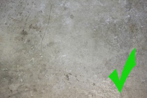 Cement Subfloor