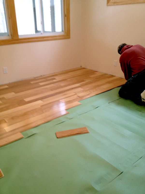 Bestlaminate customer - Laminate Flooring DIY Installation