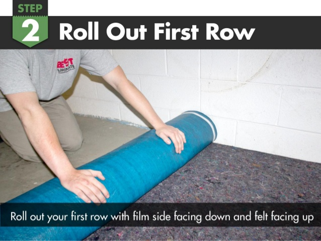 How To Install Felt Cushion 3 In 1 Flooring Underlayment