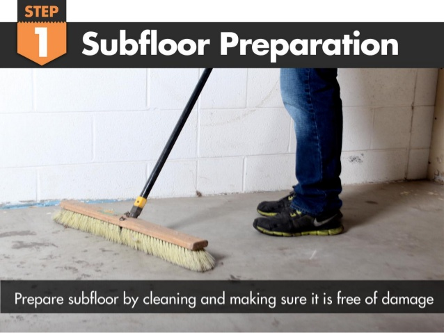 Clean Your Subfloor