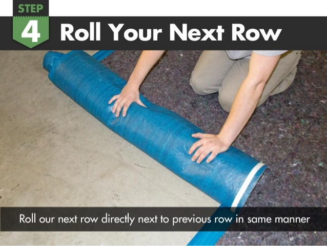 Roll the next row