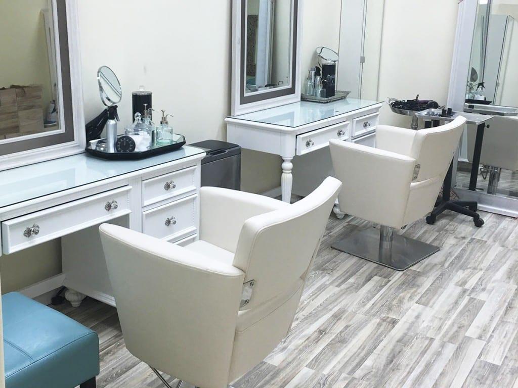 Hair Salon using Nordic Ash