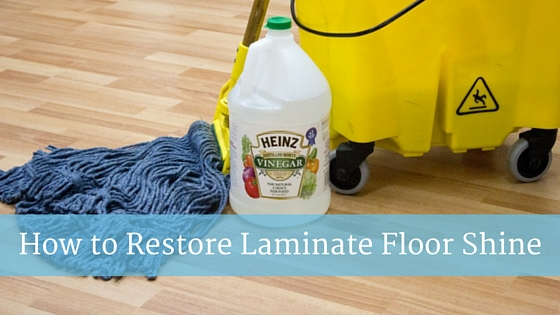 how to clean and shine laminate floors