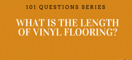 What is the Length of Vinyl Flooring?