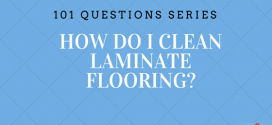 How do I clean laminate floors?