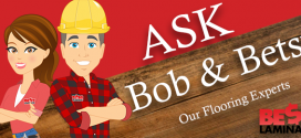 Ask Bob and Betsy: Can I Use Laminate Flooring in a Bathroom?