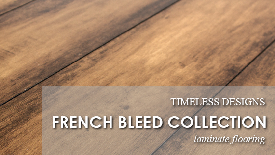 Timeless Designs has a NEW Laminate Flooring Collection!