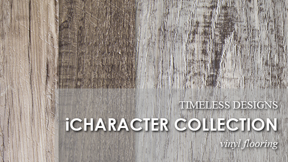 Timeless Designs has a NEW Vinyl Flooring Collection!