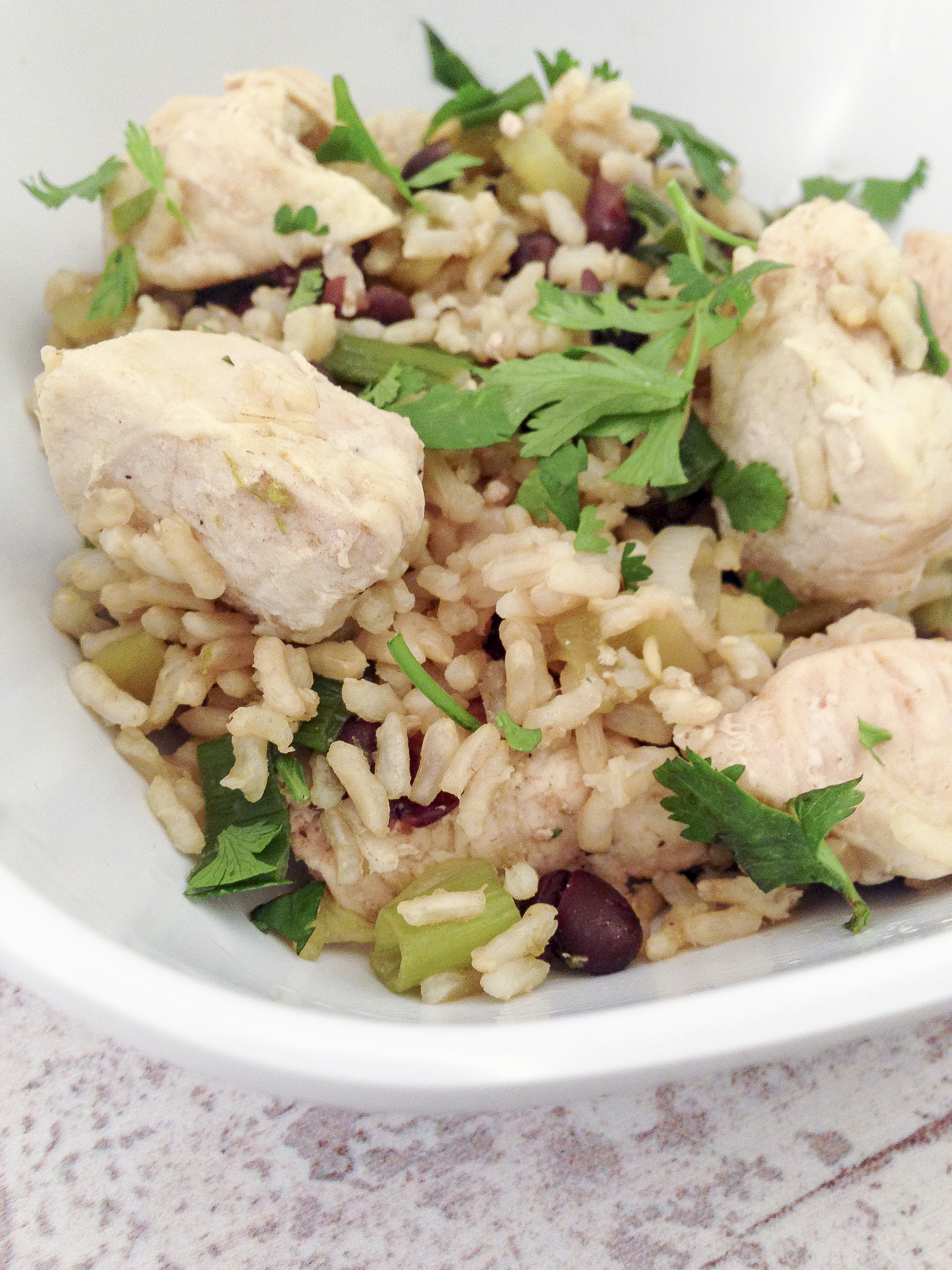 Cilantro Chicken Recipe — Dishmaps