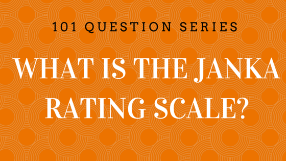 What is the Janka Rating Scale?