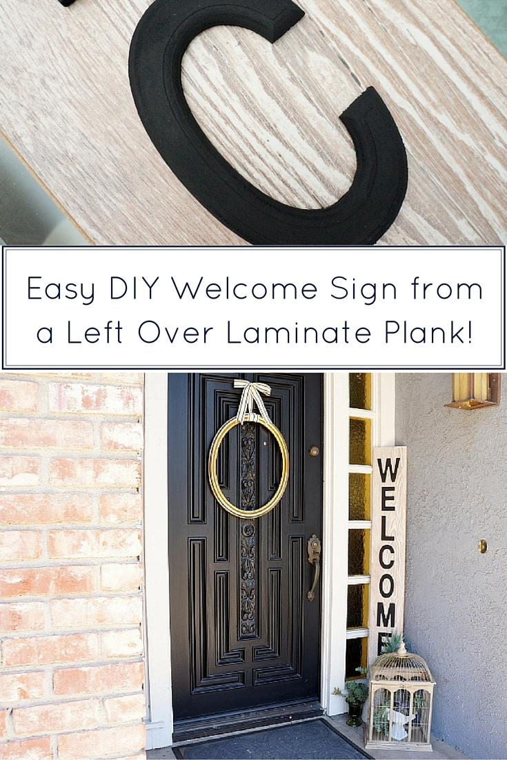 welcome signs diy - 683×1024