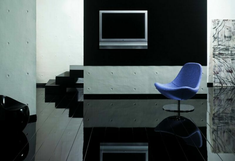 Elesgo Super Gloss Black Modern Laminate Flooring