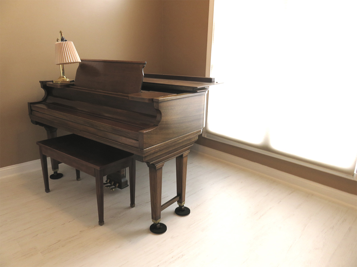 Can Laminate Support The Weight Of A Piano