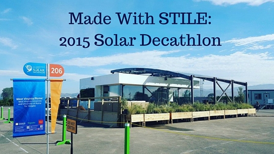 Made with stile 2015 solar decathlon for Solar decathlon 2015