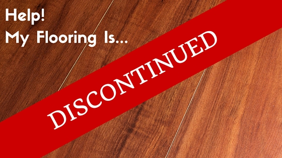 Help My Flooring Has Been Discontinued