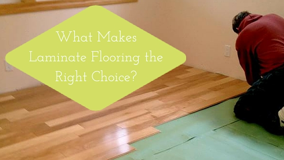 What Makes Laminate Flooring The Right Choice