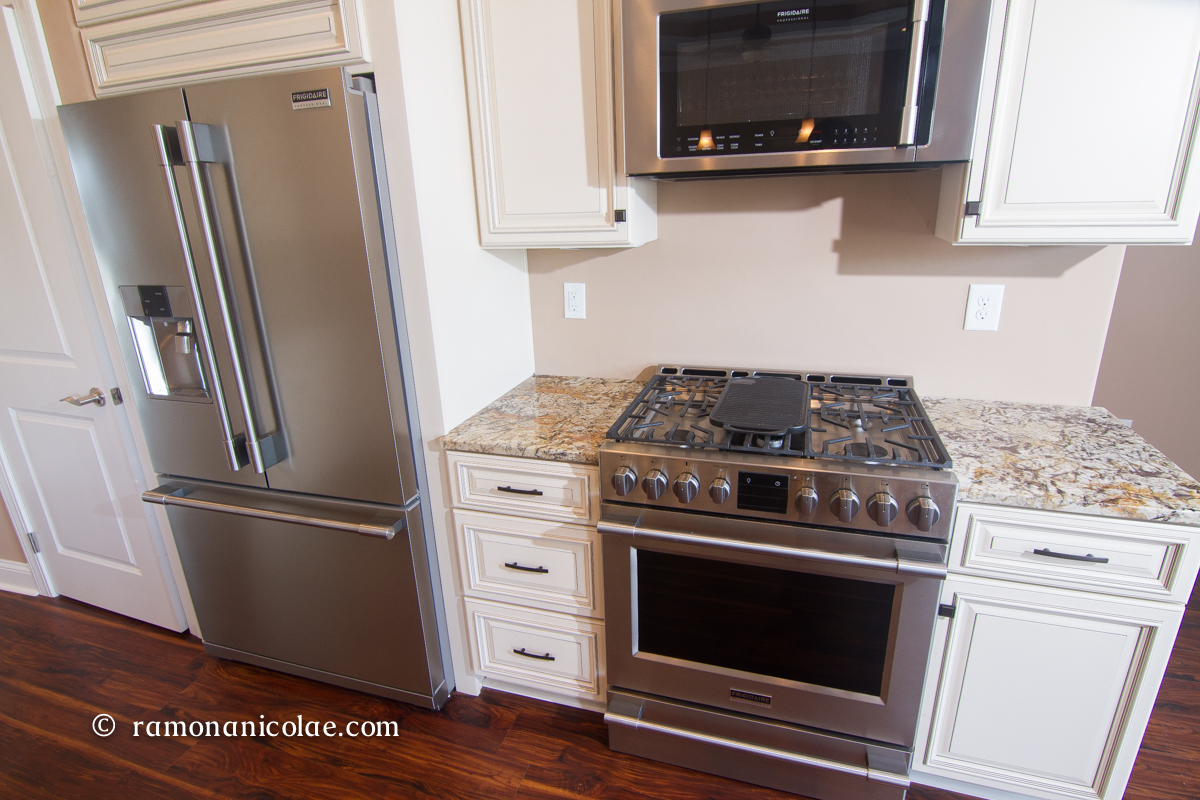 New appliances in beach home