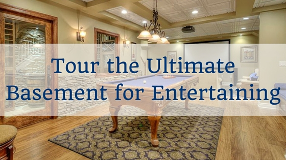 Tour the Ultimate Basement for Entertaining