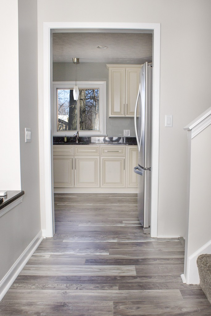 Cleveland House Flip with Armstrong Reclaimed Laminate