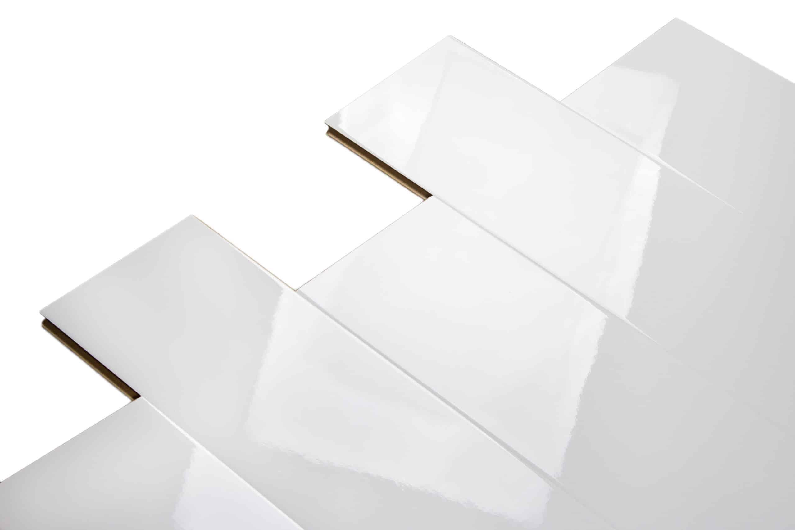 Marilynkelvin Trending Now White High Gloss Flooring