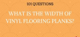 What Is The Width Of Vinyl Flooring Planks?