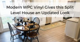 Modern WPC Vinyl in White Kitchen