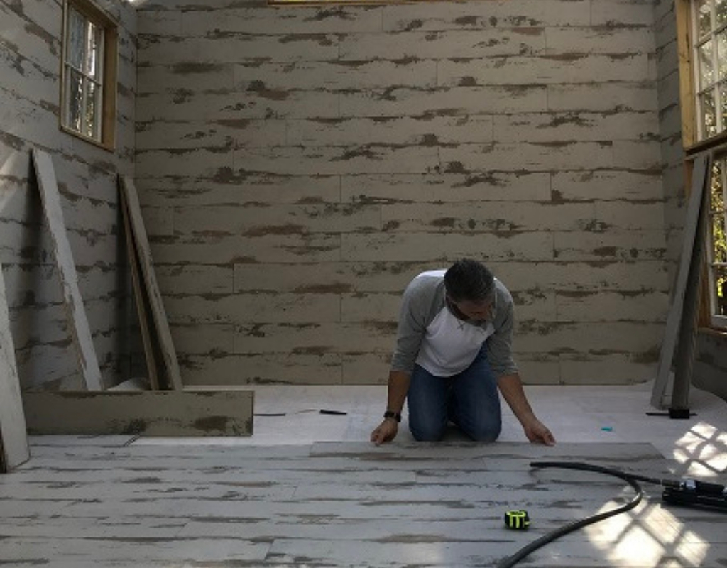 installing whitewash laminate flooring