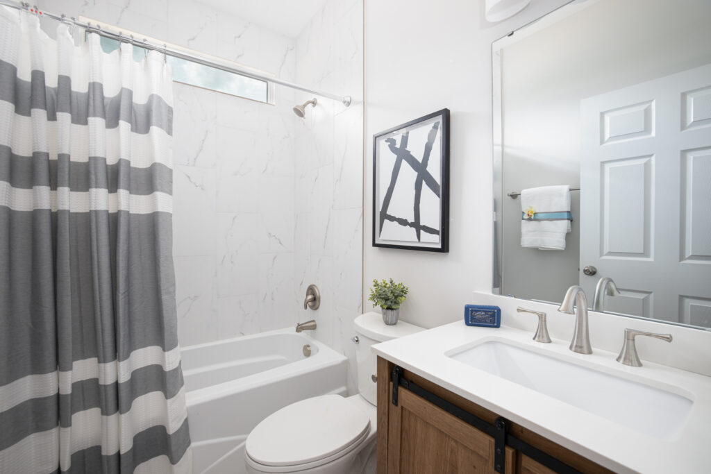 virtual home tour bathroom