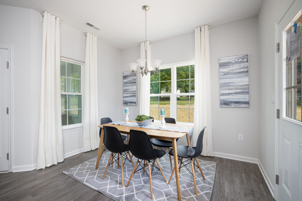 virtual home tour dining room
