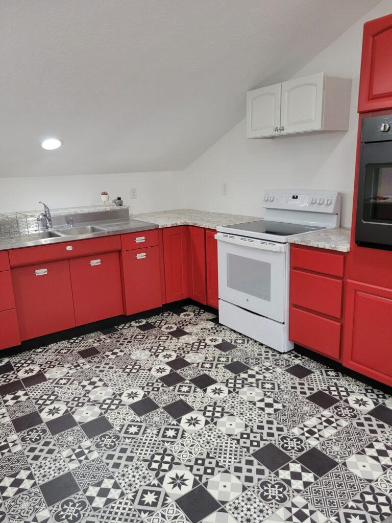 retro home decor kitchen