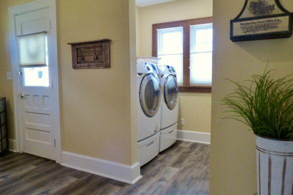 open laundry room