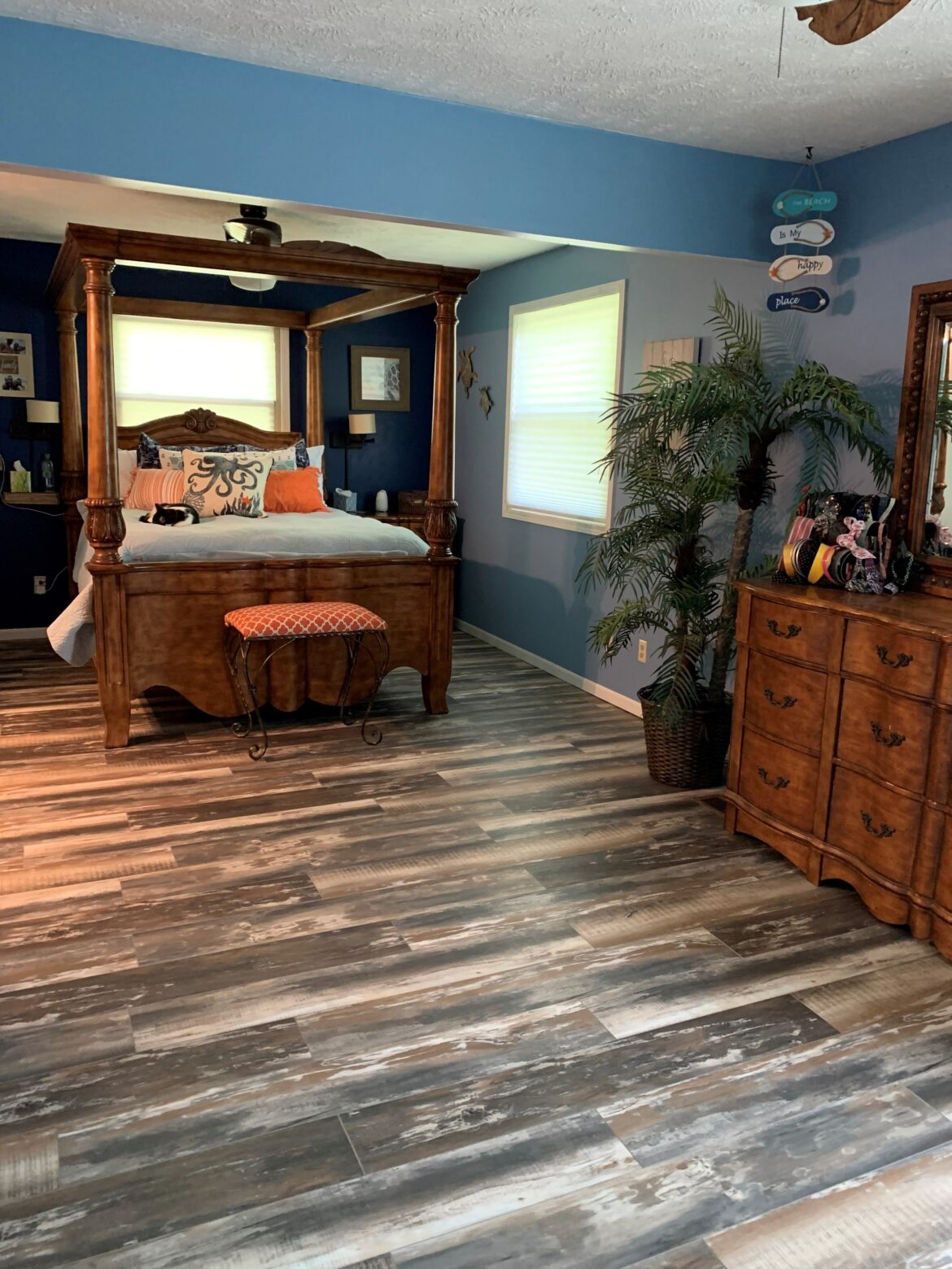 coastal bedroom flooring