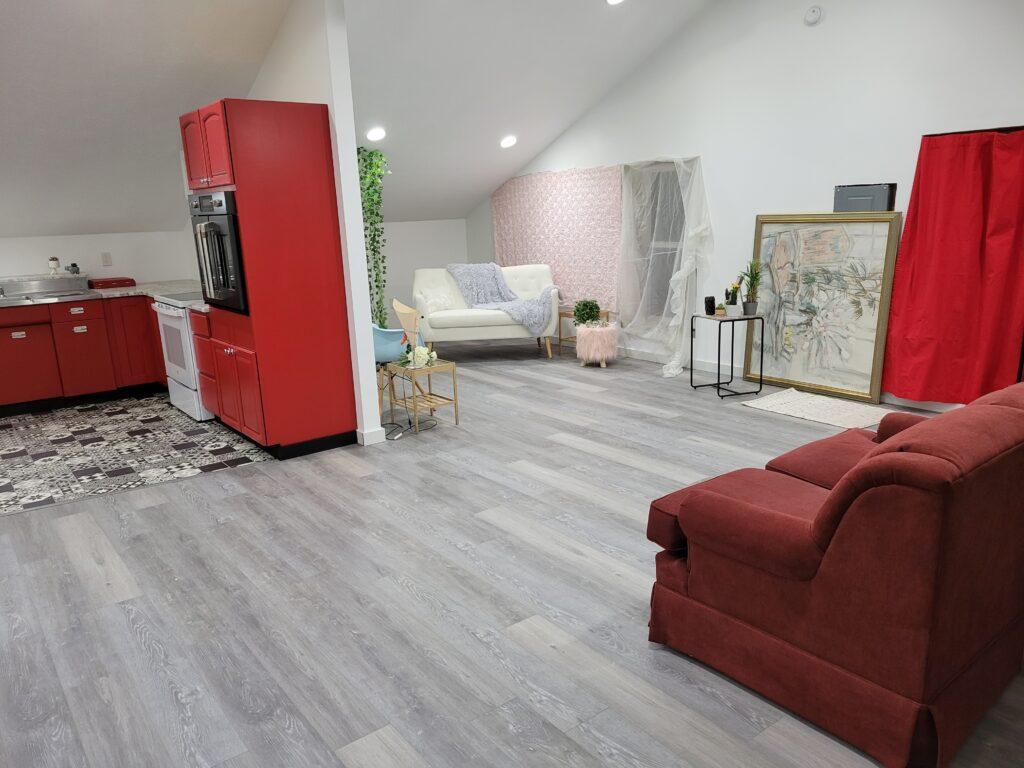 retro home decor living room
