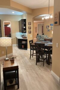 home tour dining room flooring