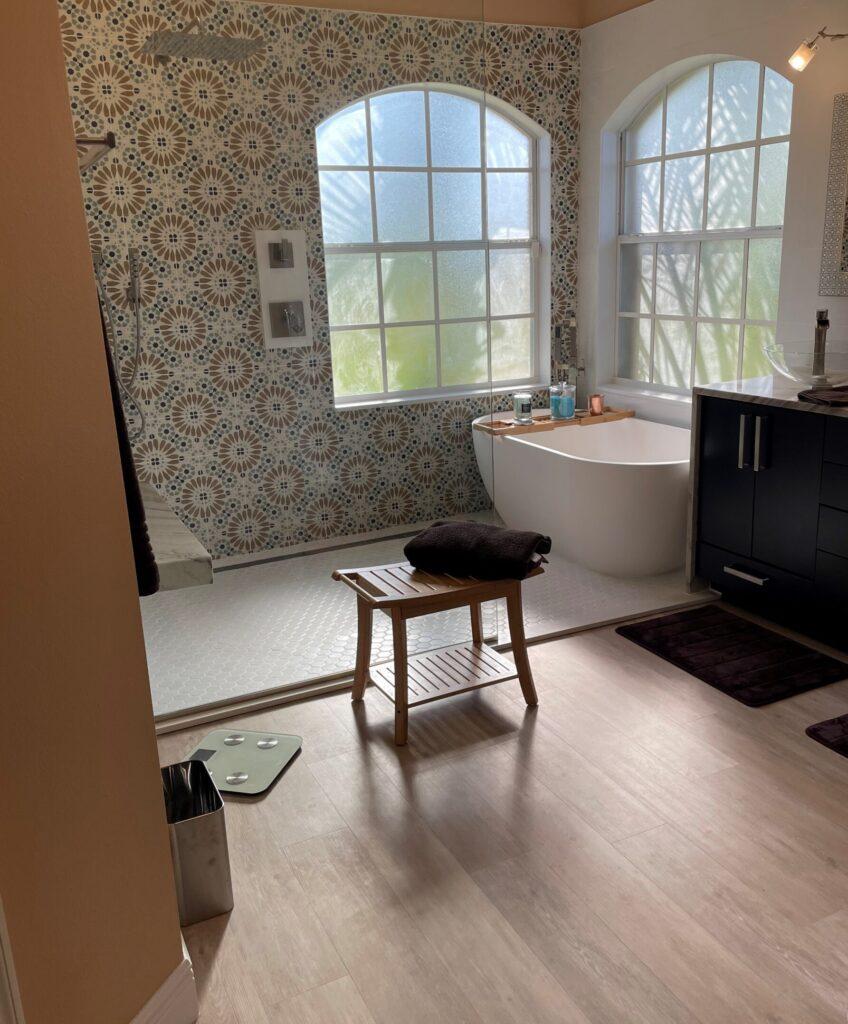home tour bathroom