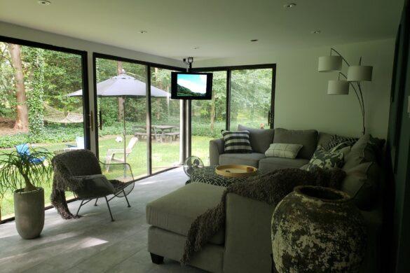 modern sunroom design