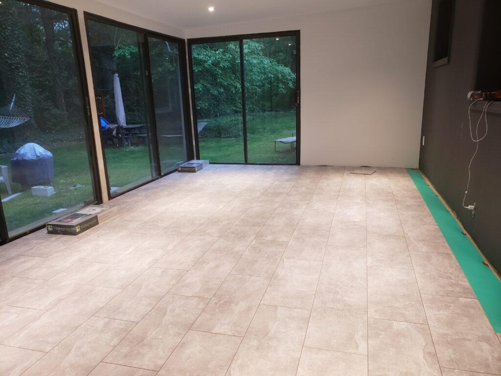 finishing flooring installation